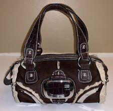 Very Cute Womens Brown with Creme Trim GUESS Purse/Handbag