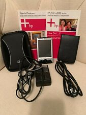 Hp iPaq rx3100 series with manuals, original cables, and original carrier