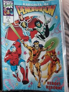 The Knights of Pendragon 2nd series #6 Dec 1992 Marvel Uk Comic  Overkill tales