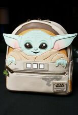 NEW WITH TAGS! Loungefly Disney Star Wars The Child Baby Yoda Mini Backpack