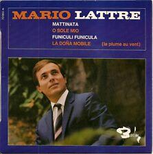 "MARIO LATTRE ""O SOLE MIO"" 60'S EP"