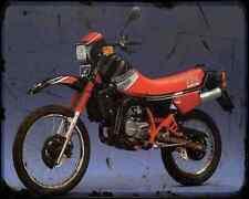 Gilera Rx Arizona 125 A4 Metal Sign Motorbike Vintage Aged