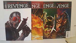 REVENGE #1-4 COMPLETE SET VF.NM (IMAGE JOHNATHAN ROSS)