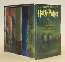 Harry Potter Hardcover Box Set (Books 1-6), Rowling, J. K., Acceptable Book