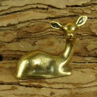 Solid Brass Deer Figurines Statue House/Office Décor Wild Animals Figurines