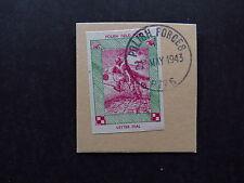 Stamp Poland Polski Polish Forces Field Post Letter Seal 1943