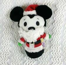 Hallmark 2013 Disney Itty Bittys Bitty Mickey Mouse Santa Clause Christmas Plush