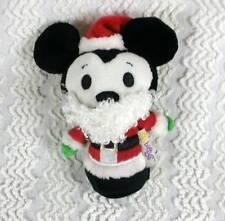 Hallmark 2013 Disney Itty Bittys Bitty Mickey Mouse Santa Clause Christmas Plush