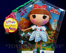 """NEW - Lalaloopsy DOTTY GALE WINDS - 12"""" Large Doll - DOROTHY Wizard of Oz - NEW"""