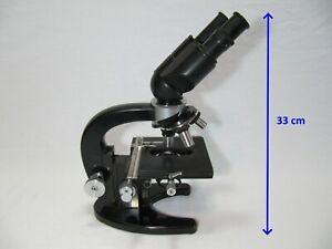 Zeiss Jena LgOG1 Binokular Routine Arzt Kreuztisch Mikroskop Stereomikroskop