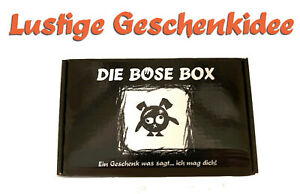 TOP Geschenkidee zum Geburtstag...jeder Anlass - Die Böse Box