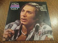 33 tours PAUL ANKA live