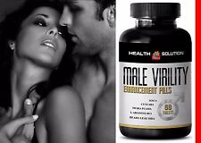 Sexuales - MALE VIRILITY Enhancement Pills Tribulus Maca 1 Bottle 60 Tablets
