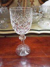 WATERFORD CRYSTAL GLASS POWERSCOURT CLARET WINE GOBLET STEM GLEN2 NR
