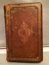 BOOK OF COMMON PRAYER SACRAMENTS RITES & CEREMONIES OF THE CHURCH 1866 PHILA NR