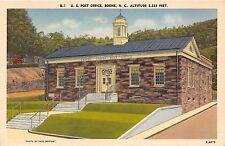 BOONE NORTH CAROLINA UNITED STATES POST OFFICE PAUL WESTON PHOTO POSTCARD c1940s
