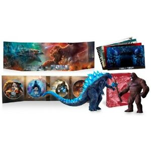 Godzilla vs Kong Movie Monster Series 2 figure SPECIAL SET included Blu ray dvd