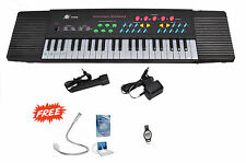 KTG 3738S -- 44 Key Musical Electronic Keyboard With Multi Freebies
