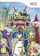 MEDIEVAL GAMES for Nintendo Wii - with box & manual - PAL