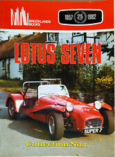 Lotus Seven 1957-1982 Roadtest, R.M. Clarke, Brooklands, 1982, 70 S., english