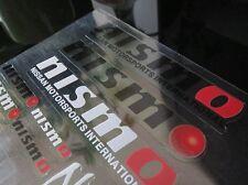 NISMO CLEAR TYPE STICKER DECAL WHEEL BADGE SET SKYLINE S15 S14 S13 PULSAR SSS GT