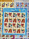 The Art of Disney Complete Set of 5 Full Mint USA sheets Over $122.00 Retail Val