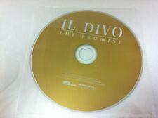 IL DIVO - The Promise Música CD 2008 - Disco sólo en Plástico Manga