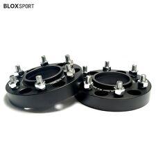 "2X 1"" 25mm 6x4.5 6x114.3 Wheel Adapters Spacers for Nissan Navara D40 Pathfinder"