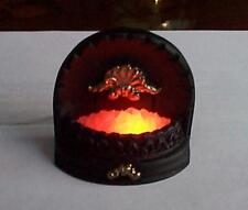 dollshouse fireplace 12v light up grate 1/12 scale fire realistic miniature
