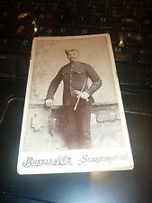 More details for victorian soldier on carte visite  scarborough  nice portrait