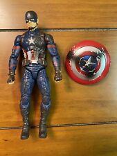 Marvel Legends Battle Damaged Captain America Figure Hasbro Avengers Loose