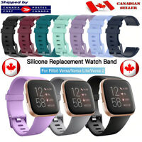 For Fitbit Versa 2 Lite Replacement Band Silicone Soft Sports Strap Wristband