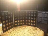 1999-2009 56 STATE BU STATEHOOD QUARTERS COLLECTION with DC & US TERRITORIES