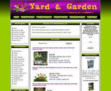 Home Yard, Garden Established Make Money Affiliate Online Business Website Sale