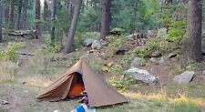 Luxe Hexpeak Tipi (2P) Ultralight Tent with 1.5 person insert