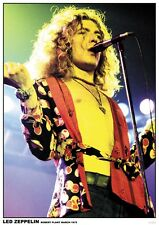 Led Zeppelin Robert Plant '75 Poster A1 Size 84.1cm x 59.4cm - 33 inch x 24 inch