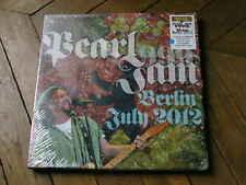 PEARL JAM Berlin 2012 BOX 3LP vinyl couleur & booklet RARE 400 Copies only