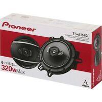 "New Pioneer TS-A1670F 320 Watt 6.5"" 3-Way Coxial Car Audio Speakers 6-1/2"""