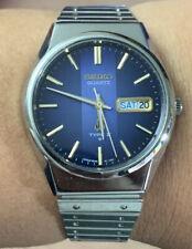 1978 Seiko Quartz Type 2 Day Date Vintage Watch 7546-8160