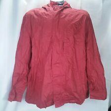 Dockers Rain Coat Jacket Parka Red XXL 2XL DMS1C435