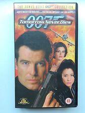 Tomorrow Never Dies VHS video