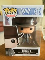 TEDDY FIGURE #457 FUNKO POP! VINYL TELEVISION WESTWORLD SERIES COMBINED P&P