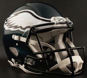 CARSON WENTZ Edition PHILADELPHIA EAGLES Riddell AUTHENTIC Football Helmet NFL