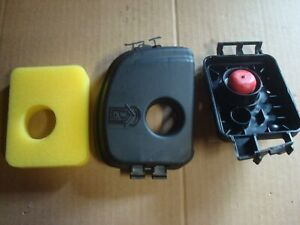 Briggs & Stratton Air Cleaner Cover 595660 and BASE 595663 Air filter 799579 MTD