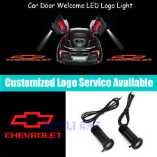 Red CHEVROLET Logo Car Door Projector Light for Camaro Silverado Colorado Impala