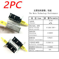 2Pcs New ST Power Switch KDC-A10 TV-5 2Pin 8A/128A 250V Repair Spare Accessory