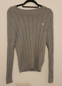 ABERCROMBIE & FITCH Men's size Medium Cable-knit Jumper / Sweater