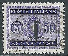 1944 RSI USATO SEGNATASSE 50 CENT - R3-10