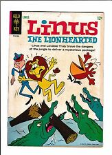 LINUS, THE LIONHEARTED #1  [1965 GD+]  CROCODILE COVER!