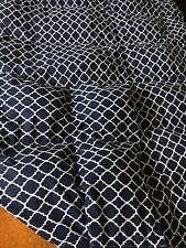Grey Quatrefoil 15lb Cotton Weighted Blanket Twin Long 40x80 Autism Blanket